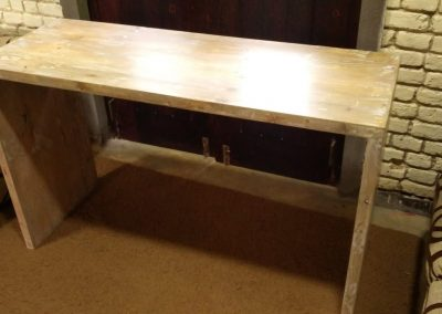 Rustic Pinewood Table