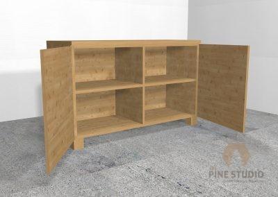 Pinewood Cupboard
