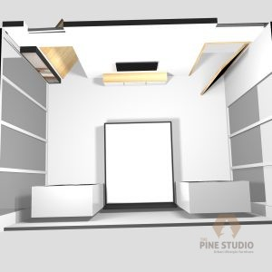3D Bedroom design, Melamine and MDF white furnitures. made in sri lanka, colombo , kandy Glossy TV Stand, night Stand, Beautiful, top elevation, white room