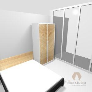 Wood look Cupboard, MDF Gloss Finish
