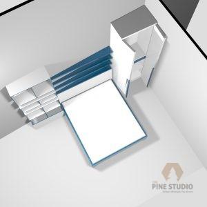 3D Bedroom design, Melamine and MDF white furnitures. made in sri lanka, colombo , kandy