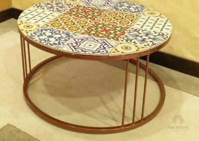 Italian tile top Coffee Table