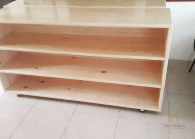 Montessori Book Racks made out of Pine Wood