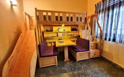 CONVERTIBLE BUNK BEDS