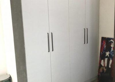 Whole New WAll mounted White Wardrobe Almirah, Almari, Almera Cupboard, Dressing, Shoe Rack