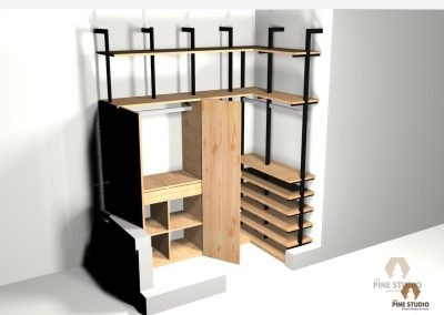 Proposed Walk-in Closet Design