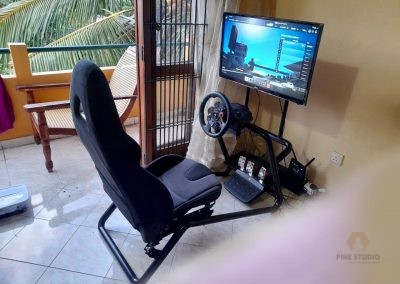Gaming Seat, gaming console, Logitech G29, Play Station
