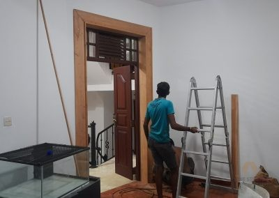 RENOVATION PROJECT – BOXED DOOR FRAME