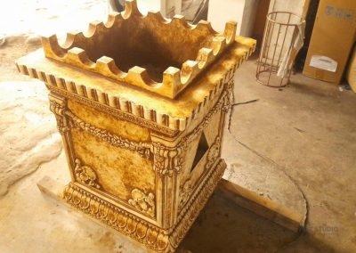 Tulsi Puja Ciment Casting துளசி மாடம்