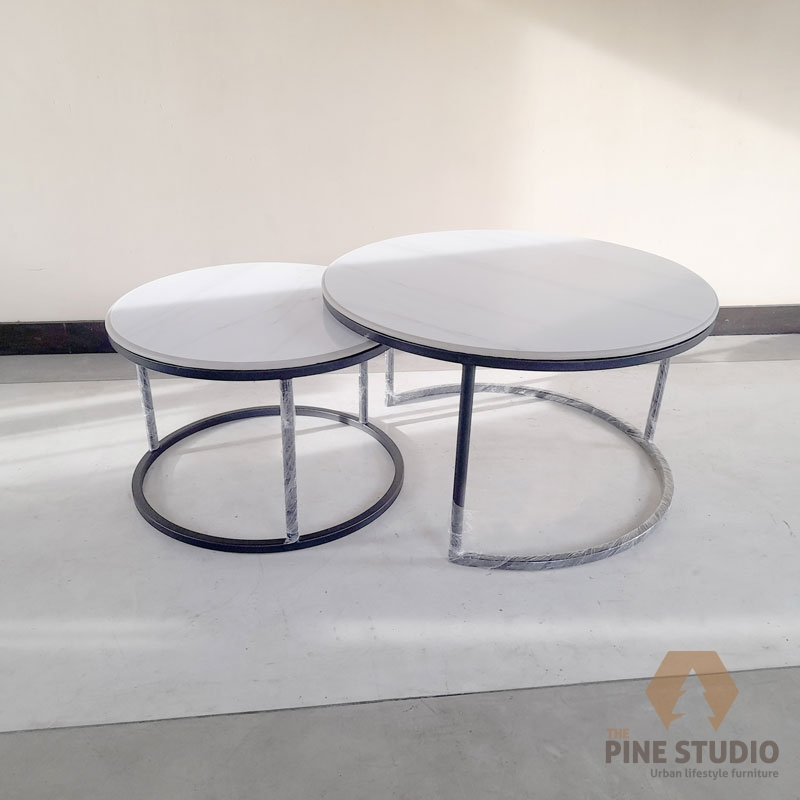 Coffee table, Tile top coffee table. circle tile coffee table, marble top coffee table, granite top
