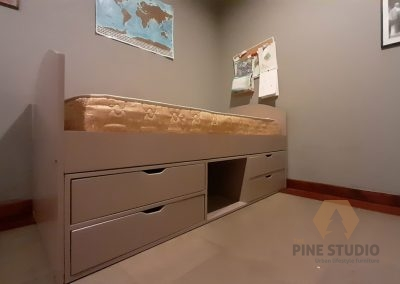 Loft Bed, Bunker bed, Kids bed with drawers, custom bed