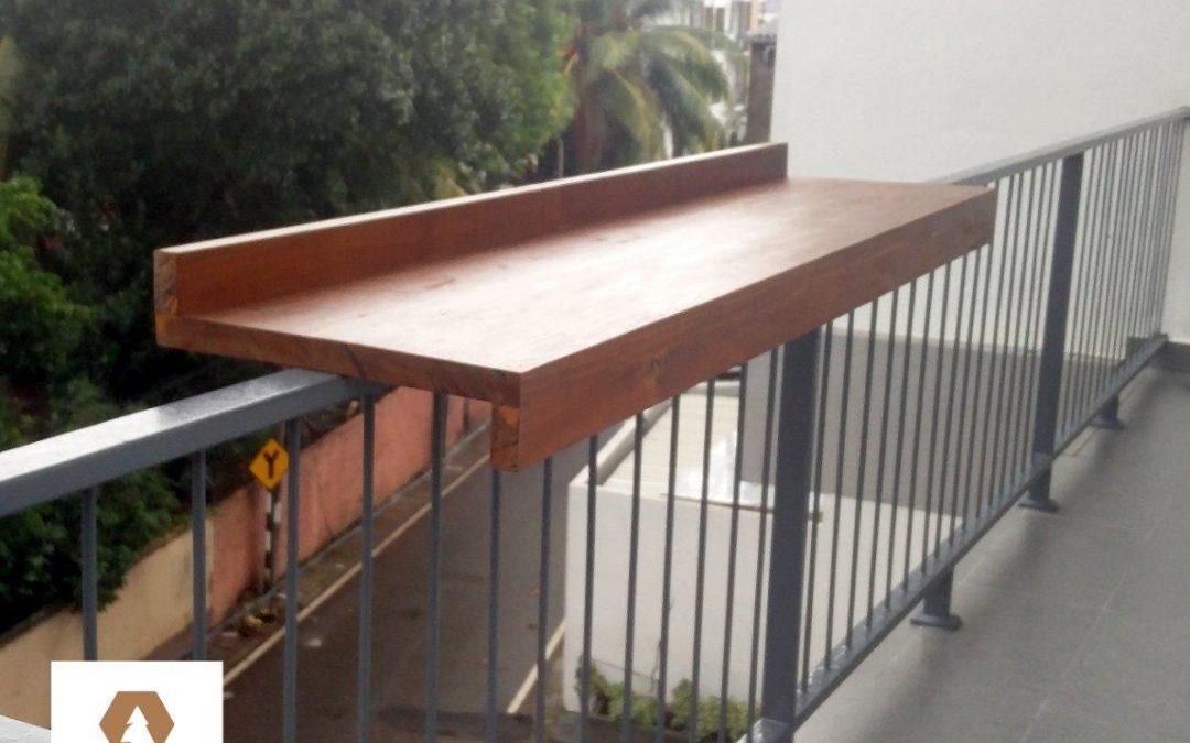 Outdoor Balcony Table made in sri lanka
